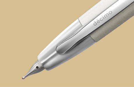 Plume stylo finition décimo