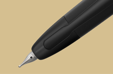 Plume stylo finition mate