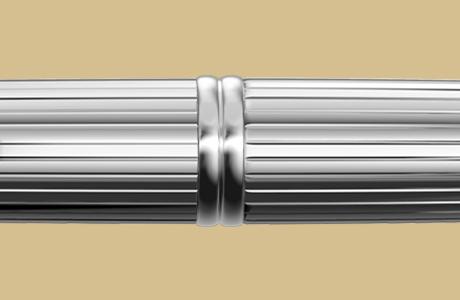 Bague stylo fintion stripe