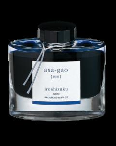 Encre Iroshizuku bleue asa-gao