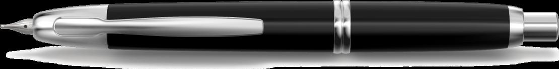 Stylo plume personnalisable Capless Finitions Rhodiées