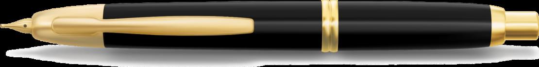 Stylo plume personnalisable Capless Finitions Dorées