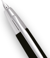 Capless pen